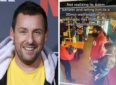 Adam Sandler le responde