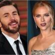 Chris Evans y Scarlett Johansson