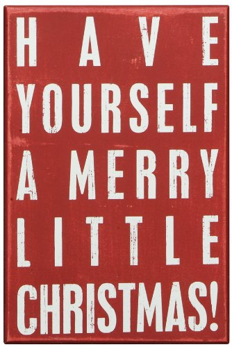 Box Sign Merry Little Christmas