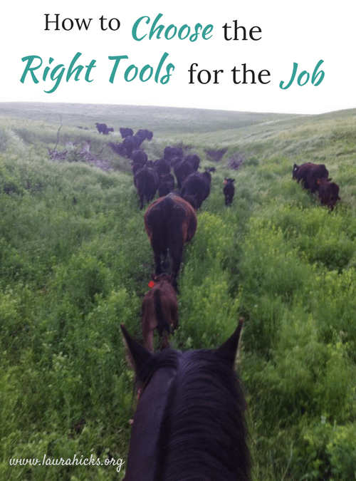 How to Choose the Right Tools for the Job