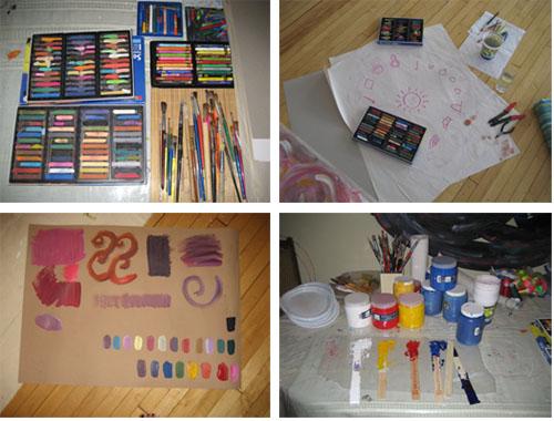 Soul Art intensive art supplies