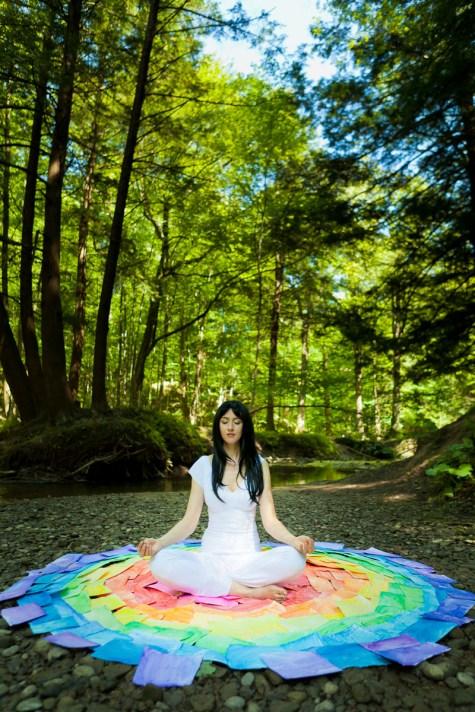 Laüra Hollick Rainbow Meditation