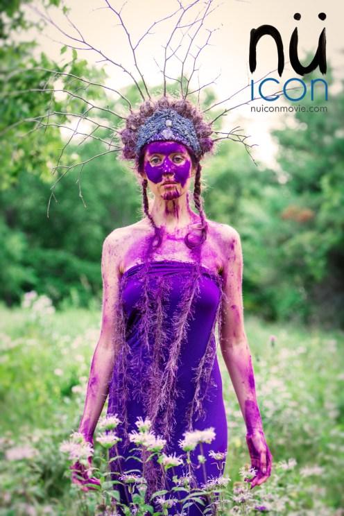 Laüra Hollick Purple