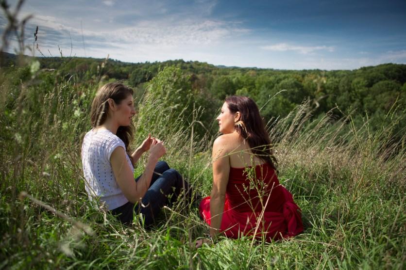 Laüra Hollick and Deborah Skye King