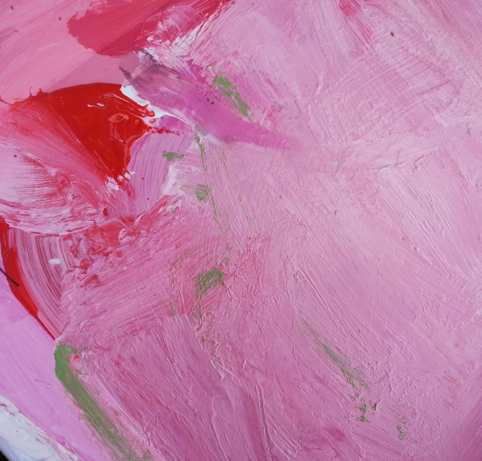 Pink Painting by Laüra Hollick