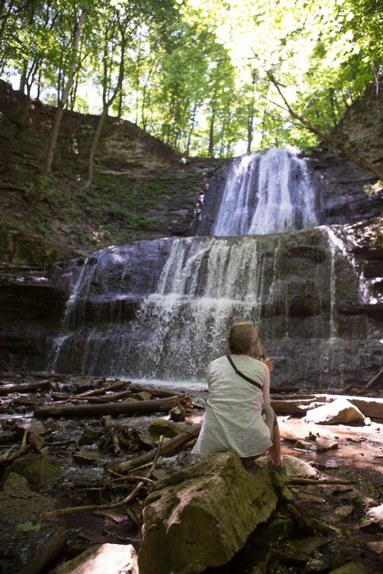 Waterfall Moment