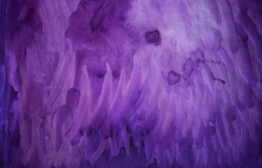 Purple Orchid Petal #14