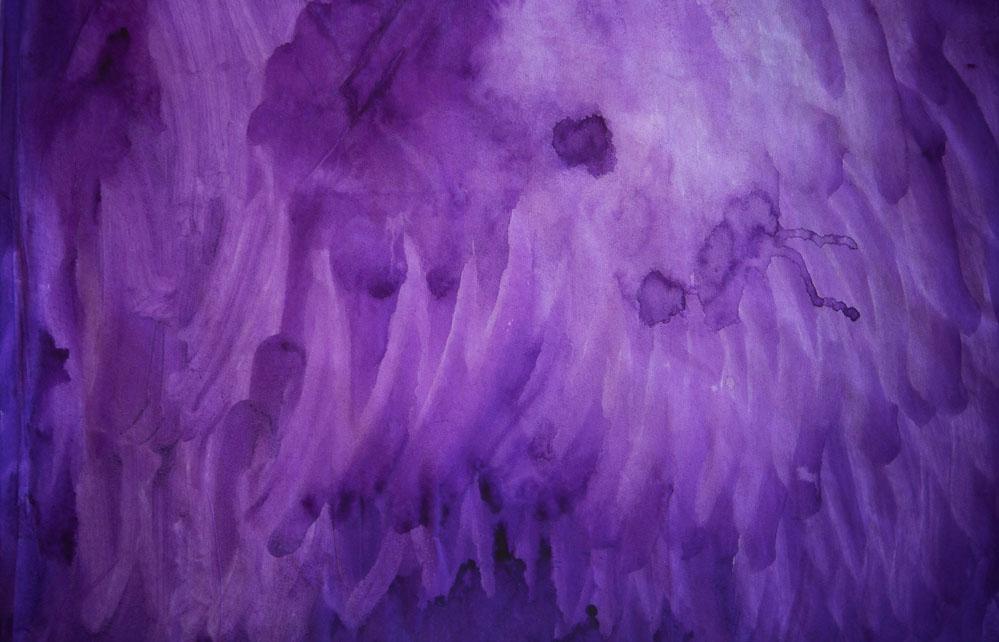 Purple Orchid Petal #14