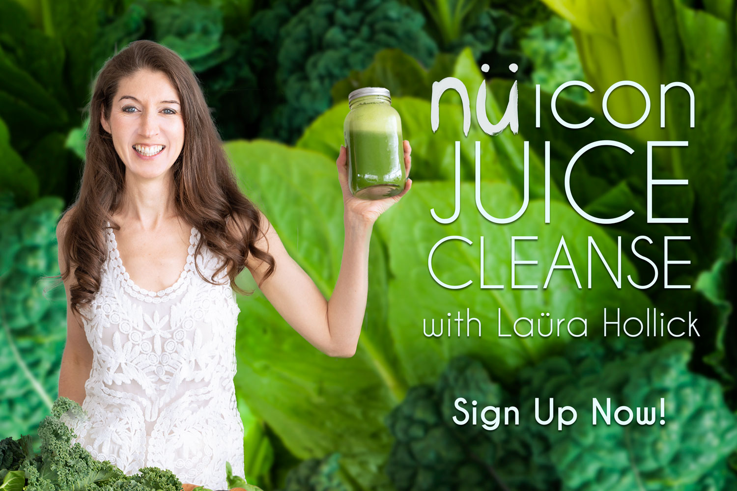 Sign up for the nü Icon Juice Cleanse
