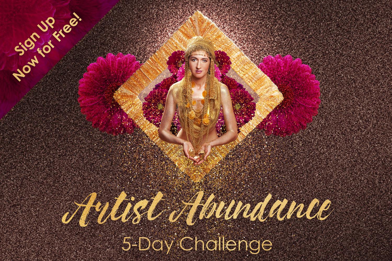 Artist Abundance Challenge - Sign Up Now