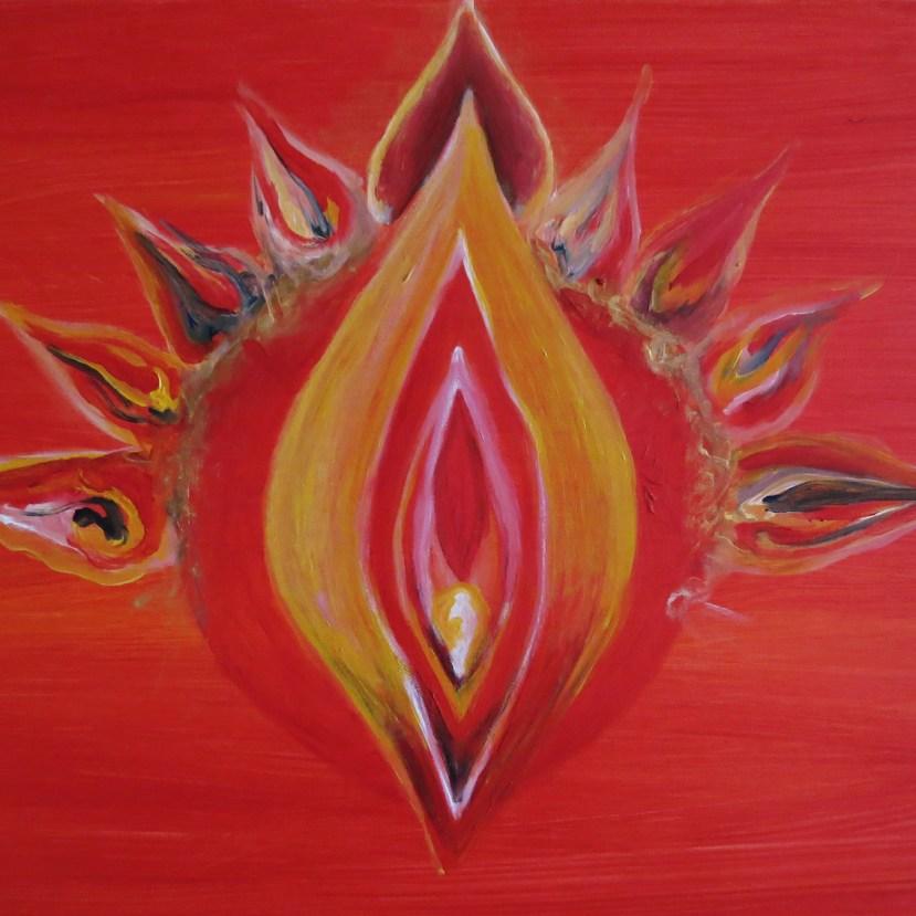 Yoni Art by Rosa Latva