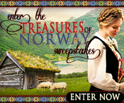 Enter the TREASURES OF NORWAY Sweepstakes from author Lauraine Snelling!