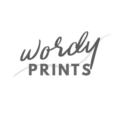 Wordy Prints