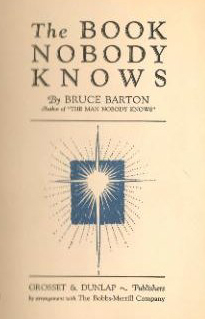 BookNobodyKnows