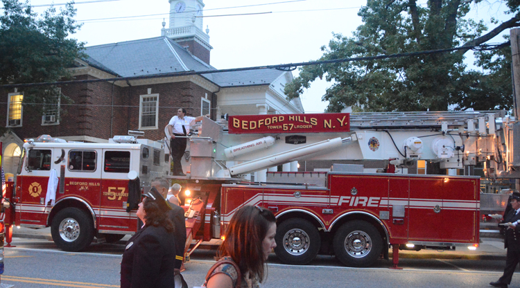 Fire truck from Bedford Hills, NY