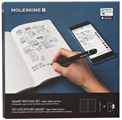 "The Moleskine ""Smart Writing"" Set"