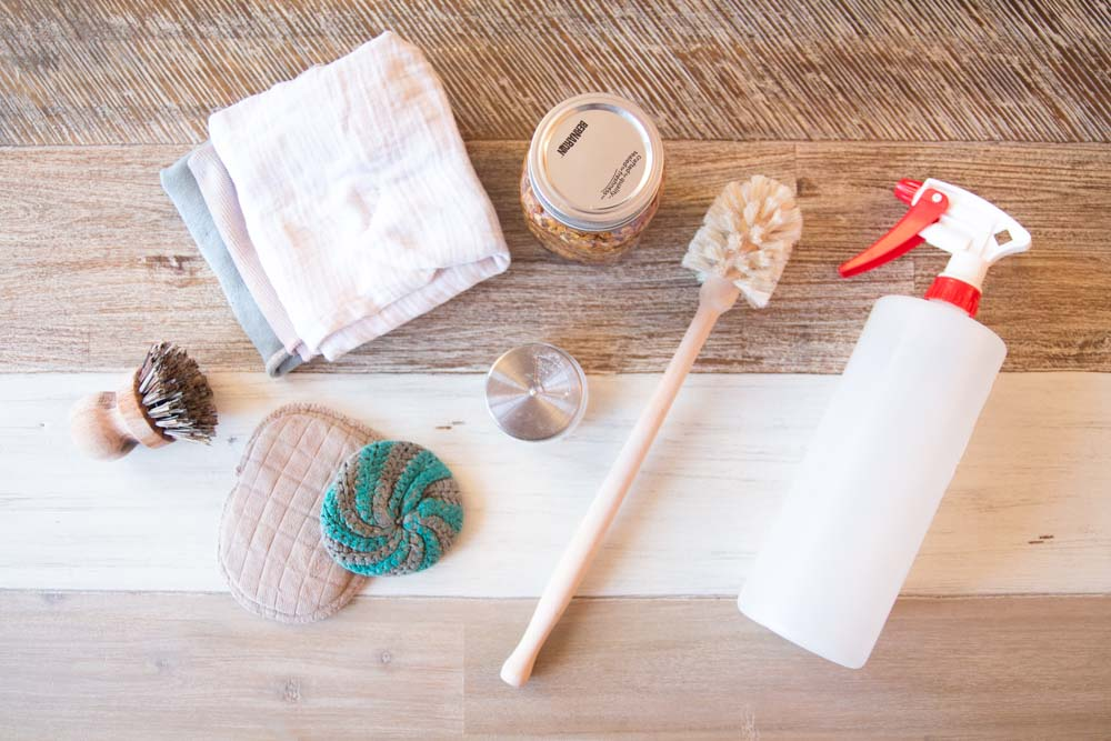 Comment faire son ménage zéro déchet