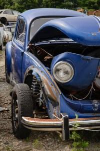 Blue VW
