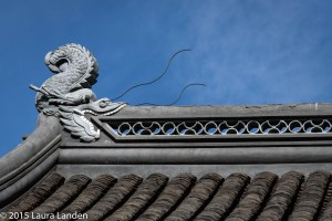 Dragonfish on Roof