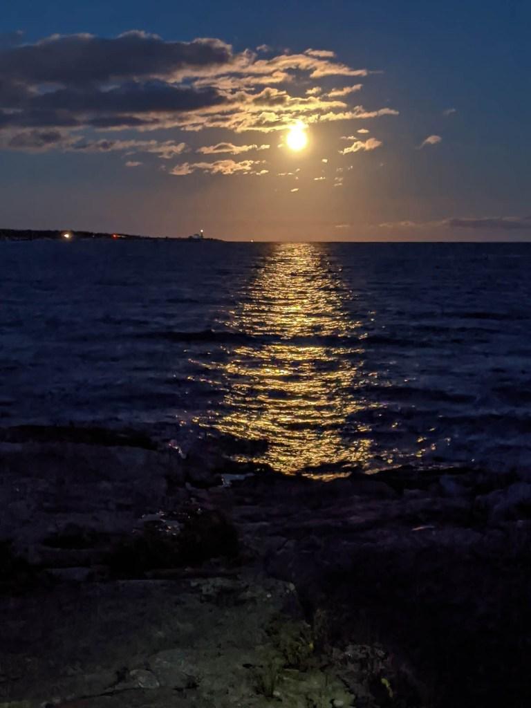 Harvest Moon Reflection