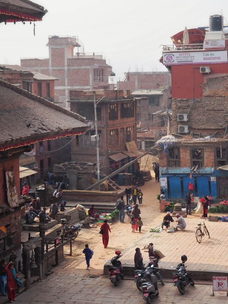 Durbar Square, Bhaktapur, Nyatapola Temple, View