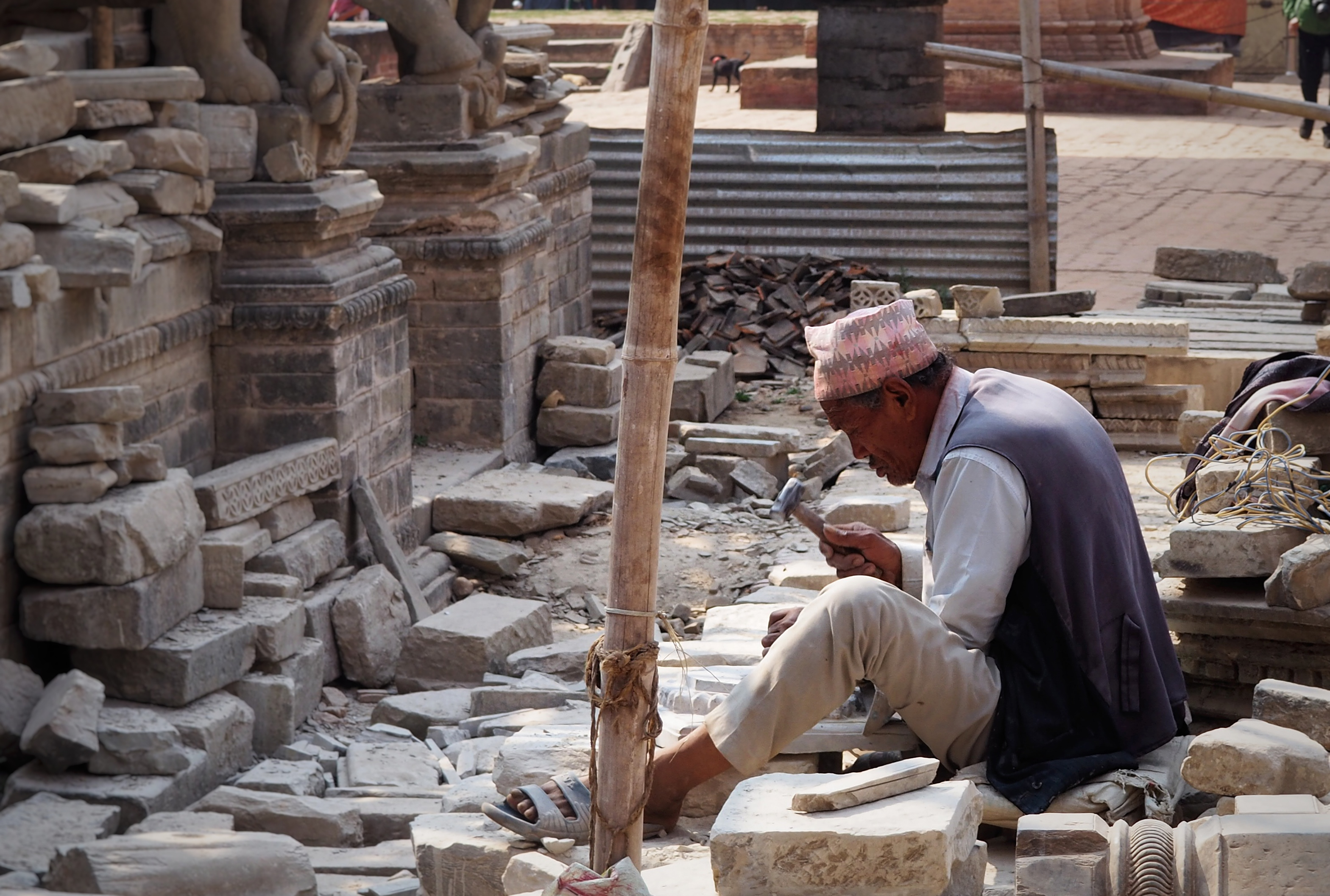 Patan, Craftsmanship, Reconstruction