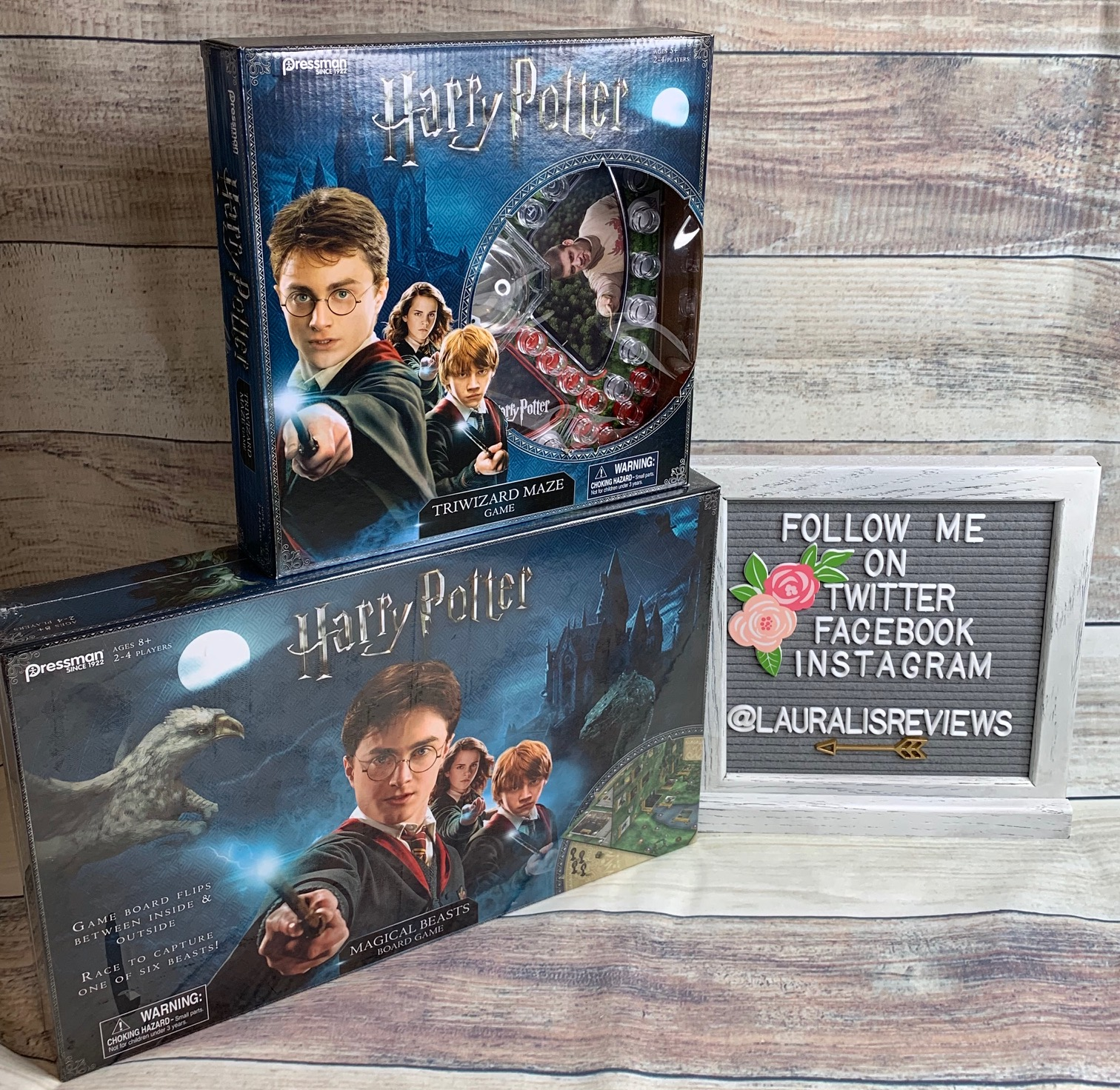 Giveaway Harry Potter Tri Wizard Maze Amp Harry Potter