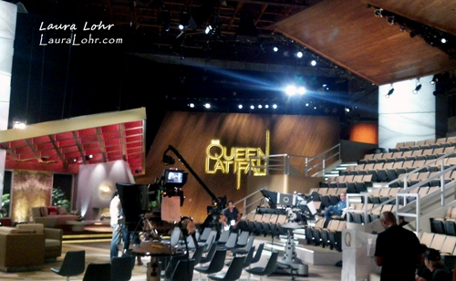 Queen Latifah Show Before Show Set