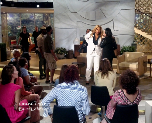 Queen Latifah Show Break