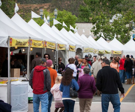 TOTV 2015: The area's best restaurants, wineries, breweries and specialty vendors will gather for the 6th annual Taste of Temecula Valley, April 29-30, in Old Town Temecula. The event is a fundraiser for the Temecula Education Foundation, a local nonprofit that raises funds to support student enrichment in the Temecula school district. Photo credit: The Photography Specialist, John Tobin