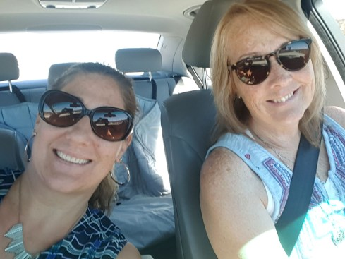 On our way to the Oaks at Ojai!