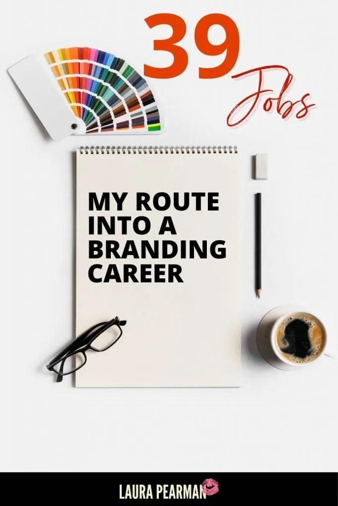 My Origin Story: How I ended up in my branding career