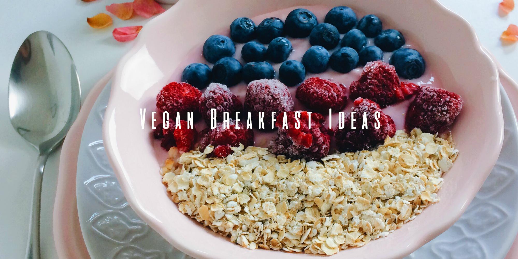 Vegan Breakfast Ideas banner