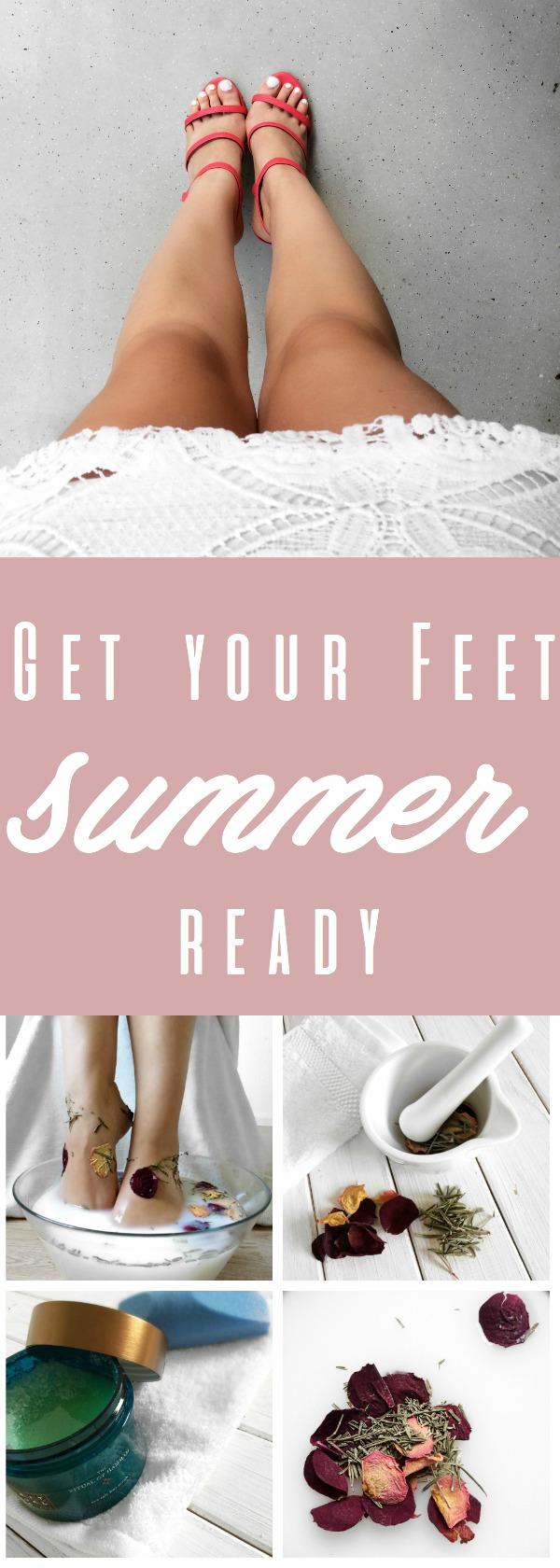 get your feet summer ready Laura Rebecca Jonas Pinterest