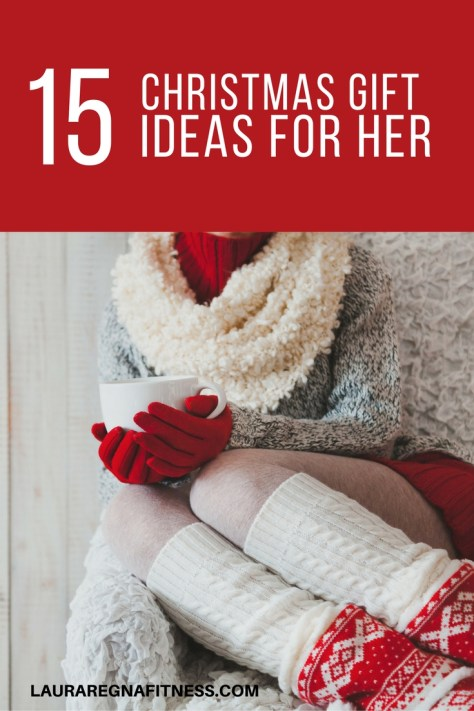 Christmas gift ideas for her. These gifts are perfect for yoga lovers, fitness buffs. The socks are on my wish list!