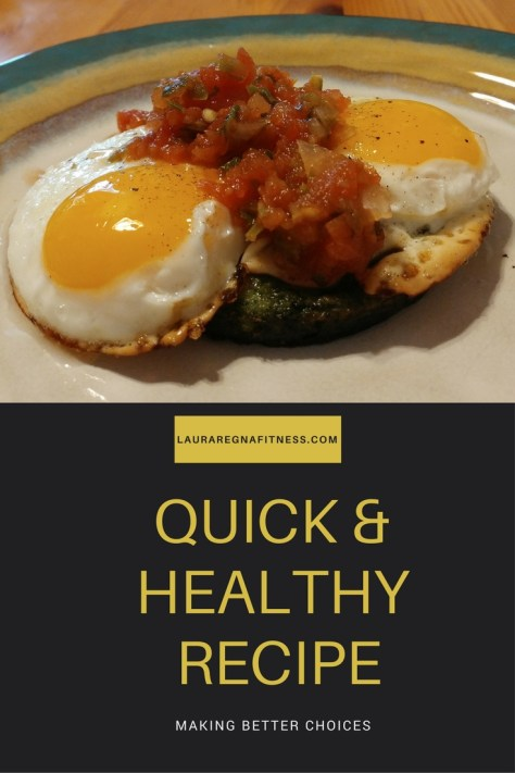 QUICK AND HEALTHY RECIPE OF THE MONTH-LAURA REGNA FITNESS
