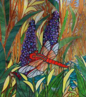 Dragonfly Sanctuary Detail: ABQ Botanic Gardens