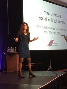 social selling training Laura Rubinstein