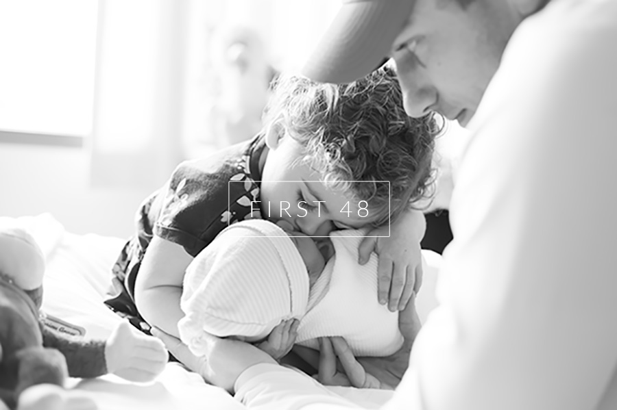 Siblings meeting for the first time | First48 Session | Laura Ryan Photography