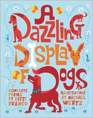 A Dazzling Display of Dogs by Betsy Franco: Book Cover