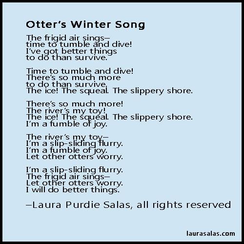 Otter's Winter Song