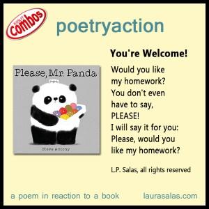 Poetryaction for Please, Mr. Panda