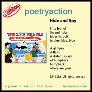 Poetryaction and Bookalikes for Whale Trails