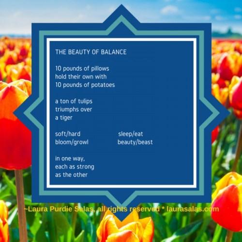 Beauty of Balance, a poem about balance