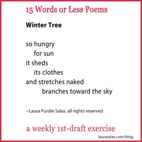 winter tree 15wol poem