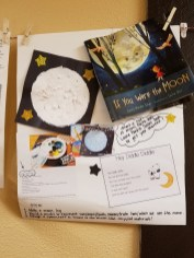 Su Botner's STEM board for IF YOU WERE THE MOON