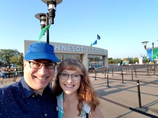 Randy and Laura at the State Fair