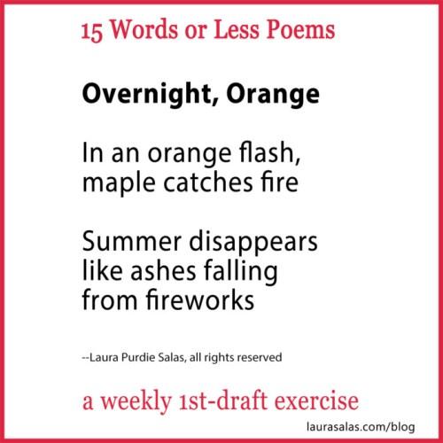 Overnight, Orange