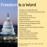 Freedom Is a Word