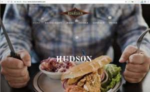 Screenshot of Hudson Seattle Website